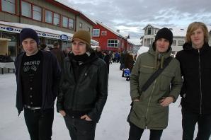 Fra venstre: Øyvind Moland, Dan Ove Nilsen, Ruben Kristiansen og Richard Nystad