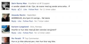 Kommentarfeltet kjendis.no