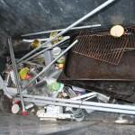 170 940 liter metall ble avlevert stasjonen i fjor. Foto: Elin Evanger