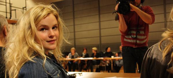 Gunhild Sundli ser fram til å tre inn i rollen som Lea. Foto: Siri Gulliksen