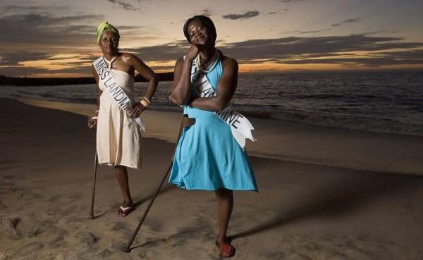 Morten Traaviks prosjekt Miss Landmine Angola 2008 fikk stor internasjonal oppmerksomhet. Men Traaviks søknad om støtte til et lignende prosjekt i Kambodsja, er avvist av Norsk kulturråd. FOTO: GORM K. GAARE