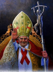 «Paven» kritiserer overgrepene og prevensjonsforbudet i den katolske kirke.