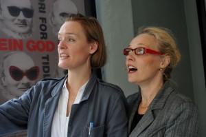 Siren Jørgensen og Katrine Lunde MacKenzie. FOTO: JOAR HYSTAD