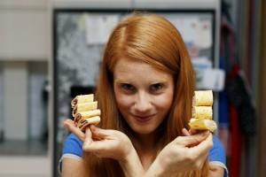 Matpakkeplikt ble til boksuksess for Susanne Kaluza. Foto: Cornelius Poppe/ Scanpix
