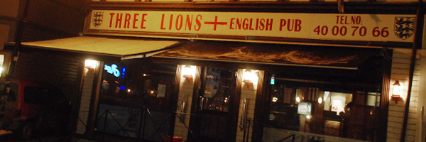 Three Lions wordpress