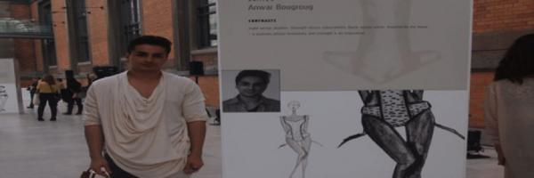 Anwar Bougroug på ESMOD- Diplomavslutning