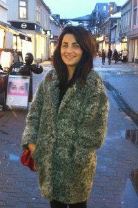 Sager Anna Nemati er ny i byen. Foto: Privat