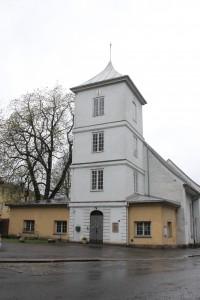 Gamlebyen kirke står i dag på ruinene av klosterkirken til fransiskanerne, som ble etablert i 1291. Foto: Camilla Veka